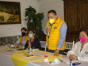 Hoy en el PRD Michoacán nos escuchamos de tú a tú, y construimos Partido