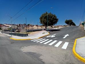 Ayuntamiento realizó balizamiento en la colonia Misión del Valle