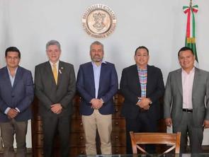 Alianza Legislativa se reúnen con Gobernador Bedolla