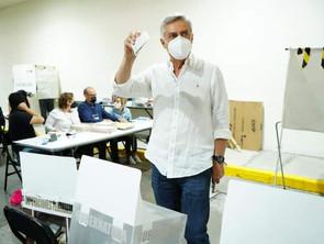 A QUE SE ACATEN LOS RESULTADOS ELECTORALES,LLAMA CRISTÓBAL ARIAS