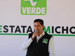 Define Partido Verde Michoacán más del 90% de aspirantes a cargos de elección popular