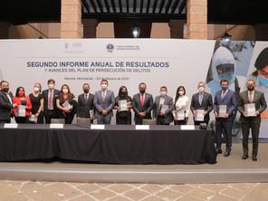 En Michoacán se han dado pasos certeros en la consolidación de una Fiscalía autónoma: GPPRD