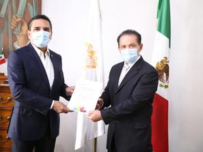Es oficial: Nombra Gobernador a Carlos Río  como nuevo secretario de Desarrollo Social y Humano