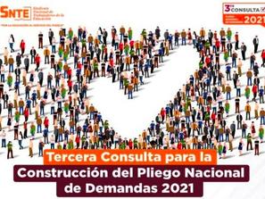 Invita SNTE al magisterio michoacano a participar en el Plan Nacional de Demandas 2021