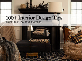 The LuxPad - 100+ Interior Design Tips