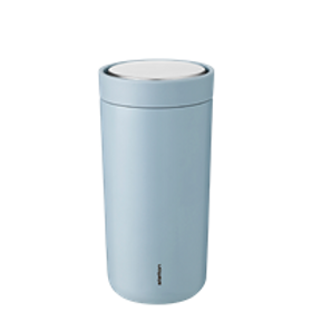 Stelton One Click Coffee Cup Cloud