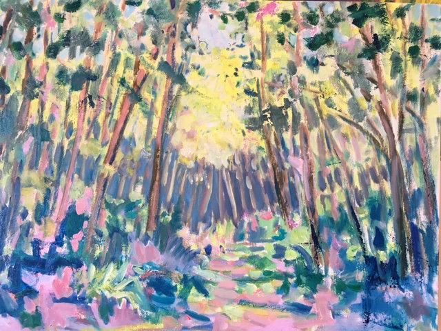 Passage I (Original oil painting on canvas)