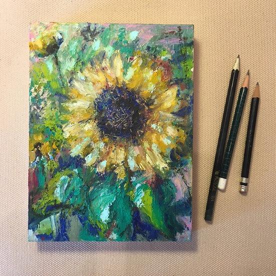 Sunflower Contemplation