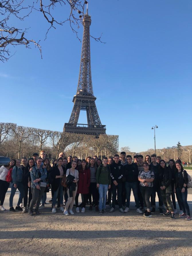Excursion pédagogique à Paris