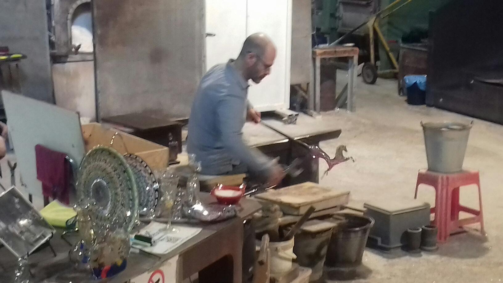 Fabrication_verre_à_Murano