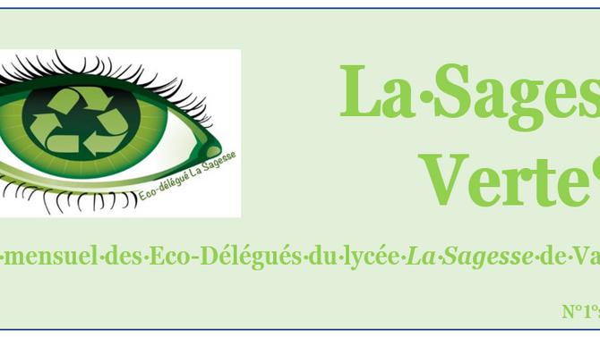 La Sagesse Verte , magazine des Eco Délégués