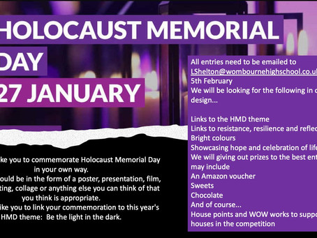 Holocaust Memorial Day Competition