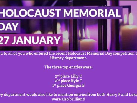 Holocaust Memorial Day Winners
