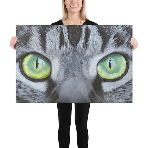 "'Eye-scape' - Full - 24x36"" Canvas Print"