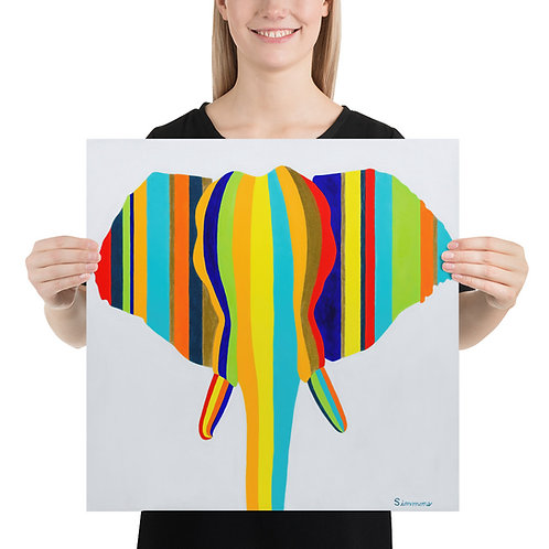 'Elephant in Stripes'