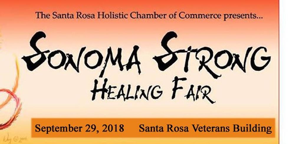 Sonoma Strong Healing Fair 2018