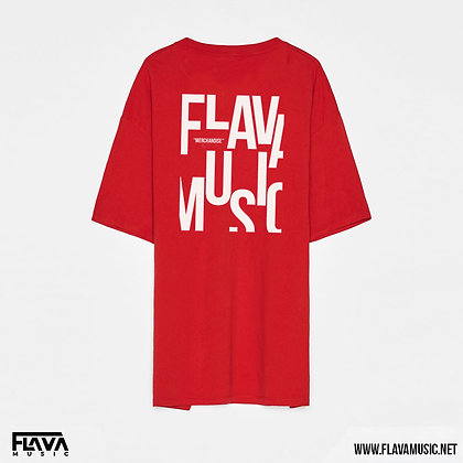 FlavaMusic Red Box Fit Shirt