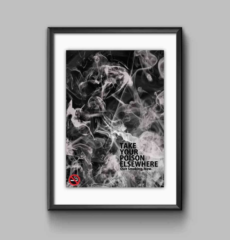 Winner of the Anti Smoking Poster Competition 2012