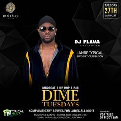 DJ FLAVA LIVE IN DUBAI