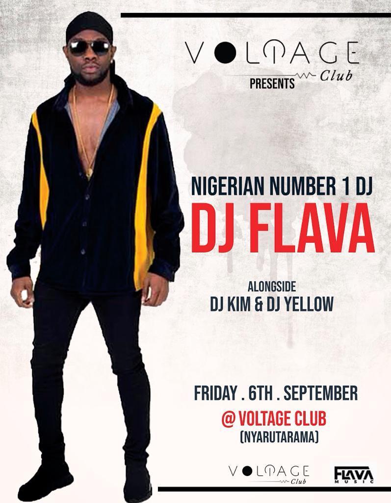DJ FLAVA LIVE IN RAWNDA