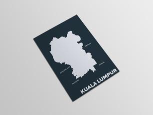 MAP OF KUALA LUMPUR