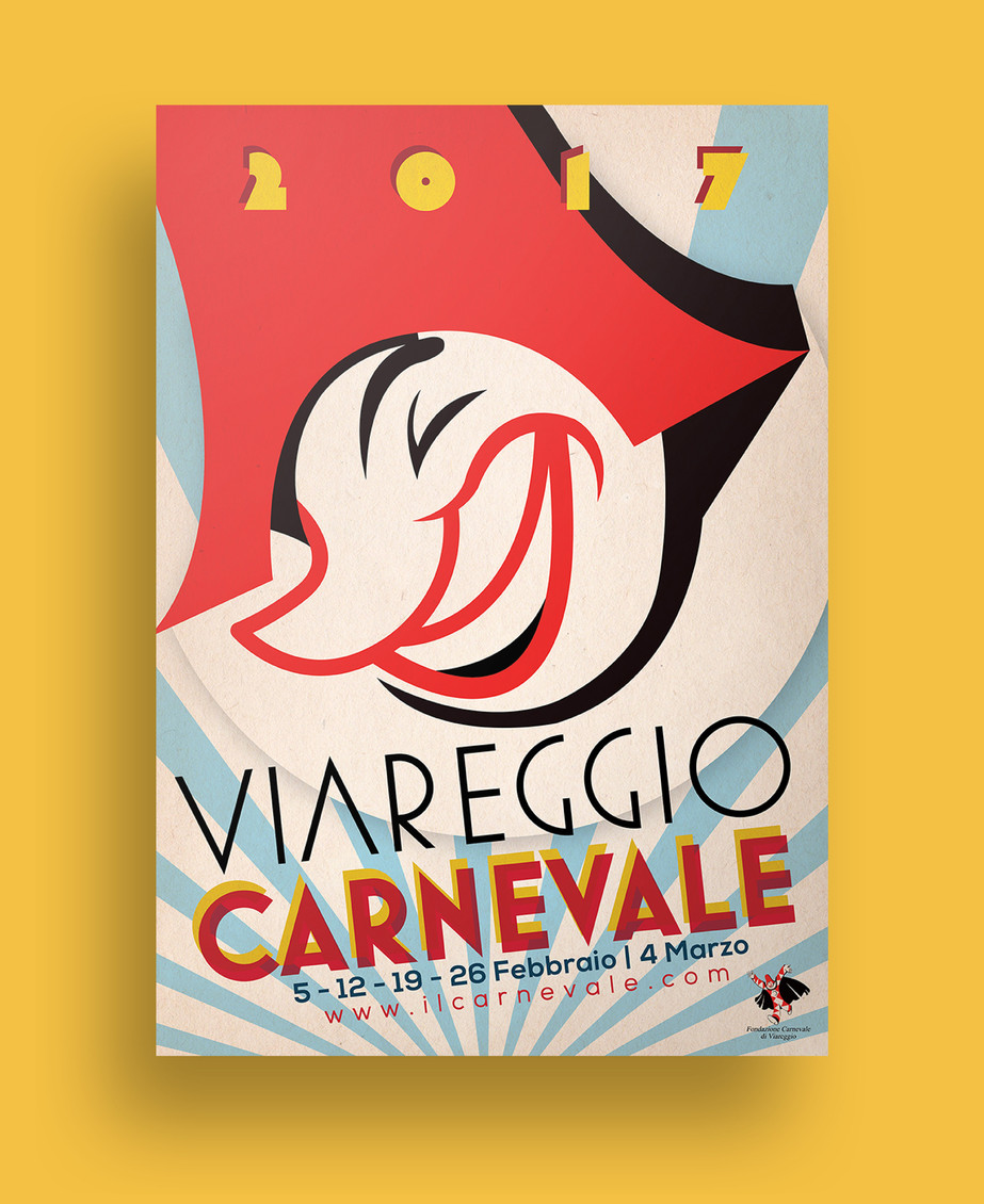 Carnevale Viareggio Poster 2016