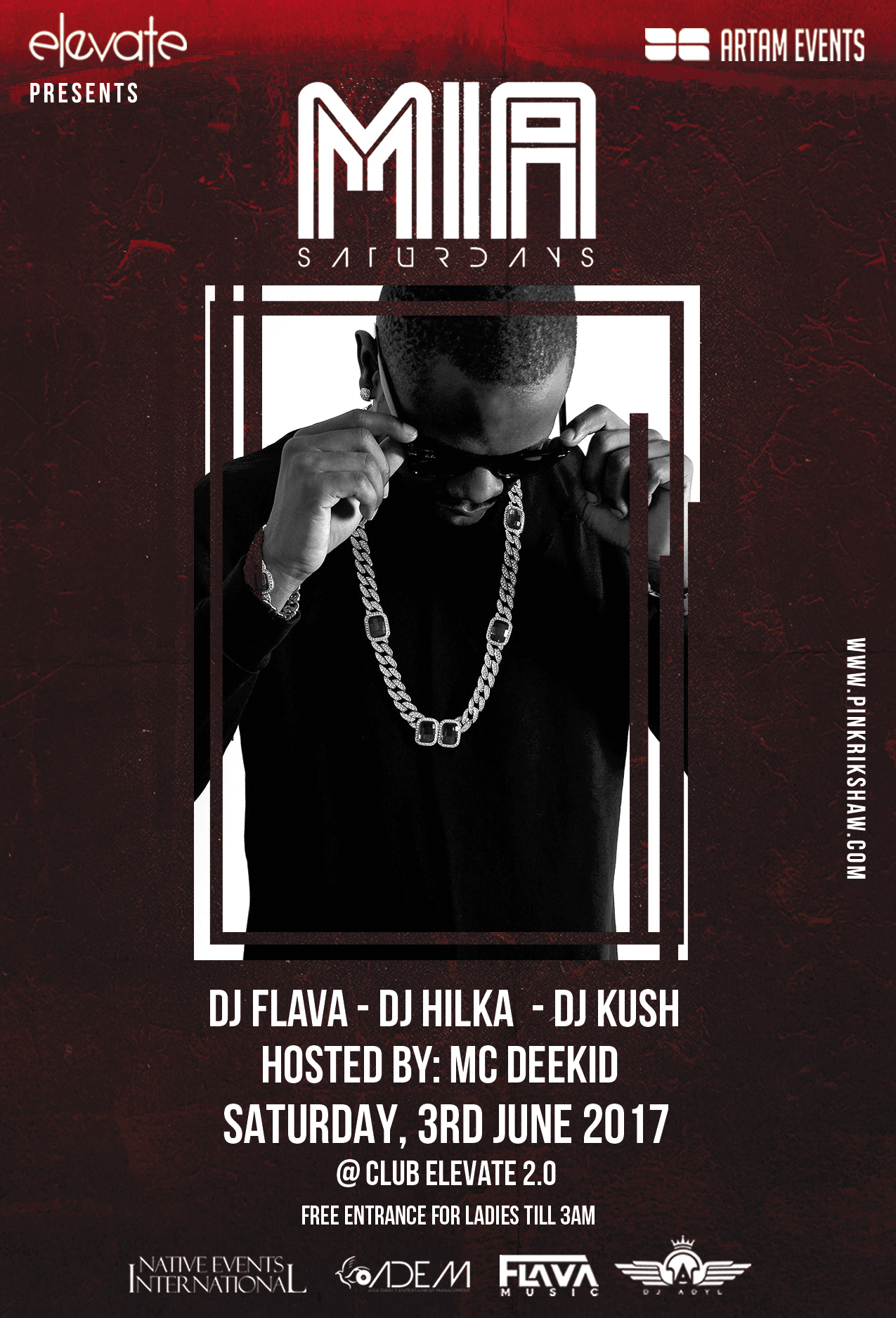 DJ Flava Live at Club Elevate