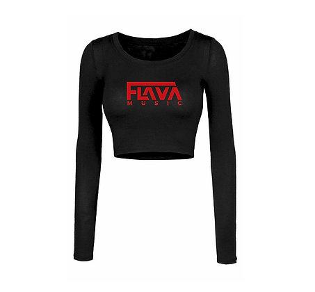Flava Music Ladies Crop Top