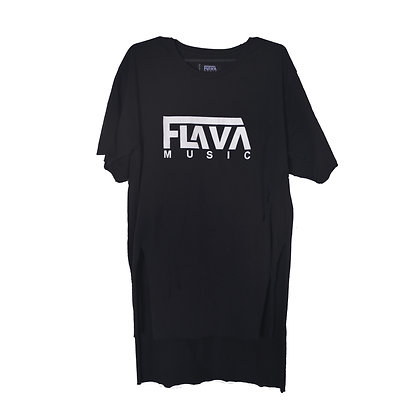 Flava Music Long Distressed Shirt