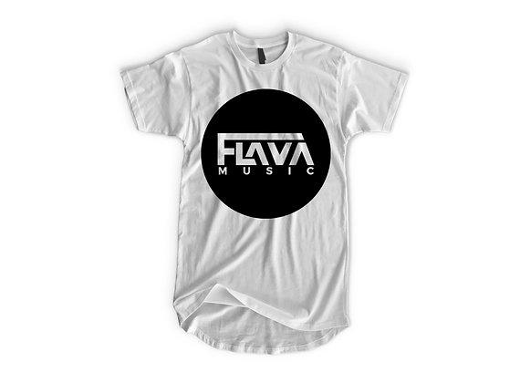 Flava Music Basic White Tshirt