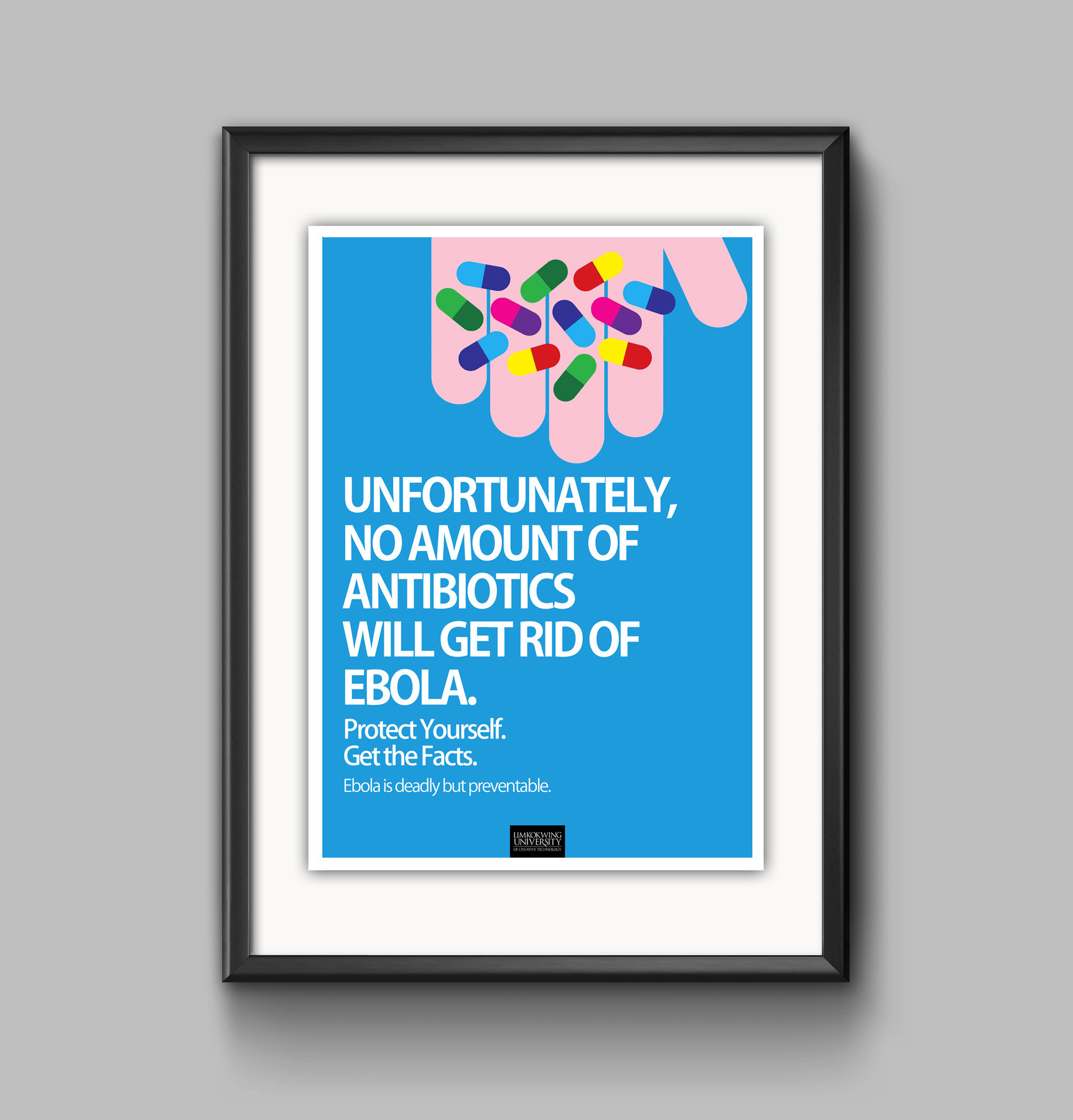 Winner of Ebola Awareness Poster Competition 2014