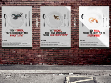 EAT UP! EDIBLE INSECTS