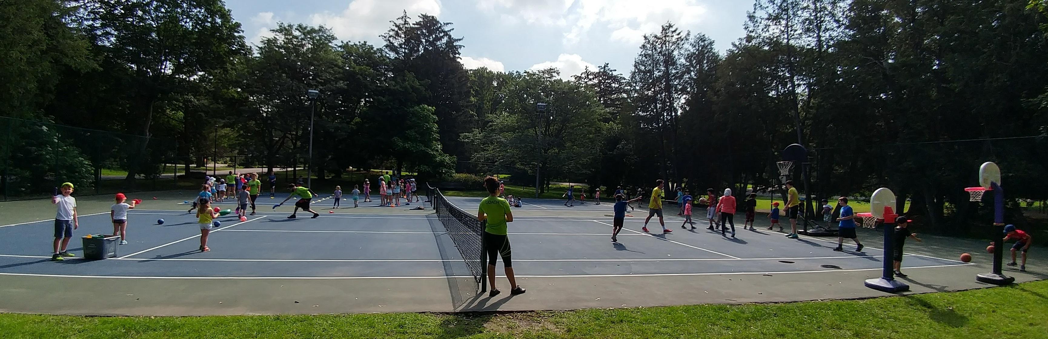Tennis Court Games