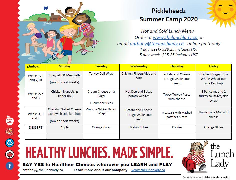 Lunch Lady_Summer Camp Pickleheadz_2020.