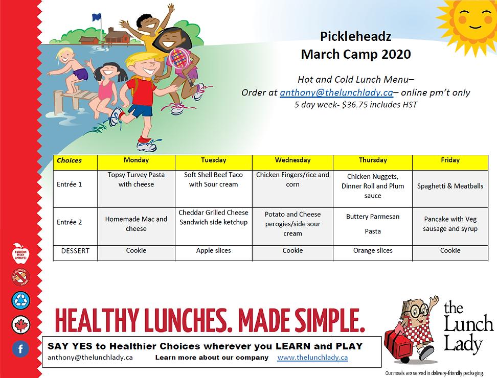 Lunch Lady_Pickleheadz March Break Camp
