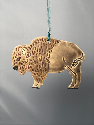 Buffalo Ornament