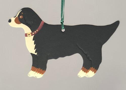 Bernese Mountain Dog Ornament