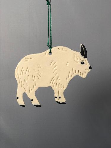 Mountain Goat Ornament