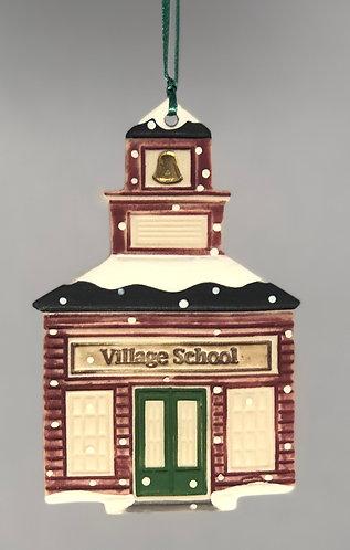 School House Ornament