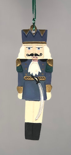 Nutcracker with Sword Ornament