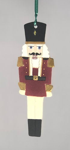 Nutcracker Soldier Ornament