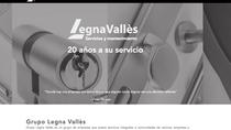 Nueva web del Grupo Legna Vallés