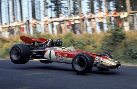Gold Leaf F1 Car in air.jpg