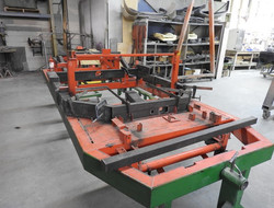 Chassis in jig 1