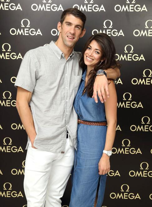 Omega House bombou em noite para Michael Phelps