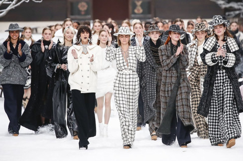 O último desfile de Karl Lagerfeld