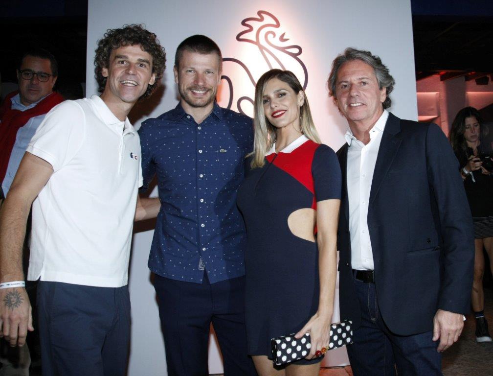 Gustavo Kuerten, Rodrigo Hilbert, Fernanda Lima e Ricardo Palm...-2