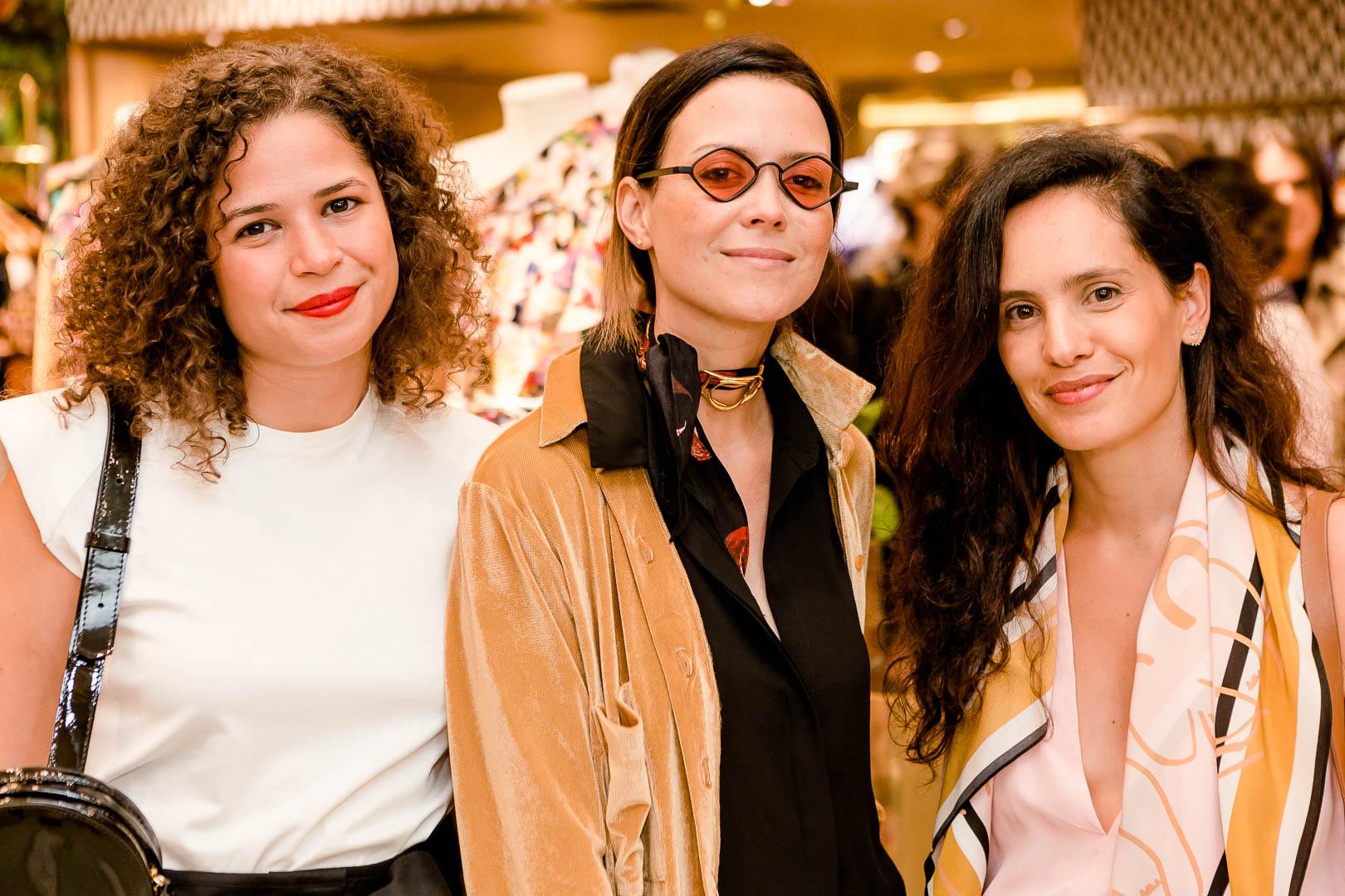 Carol Pinton Natasha Novis e Gisa Pecego