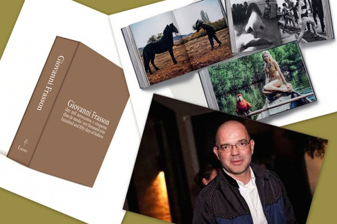 Giovanni Frasson lança livro com sua trajetória