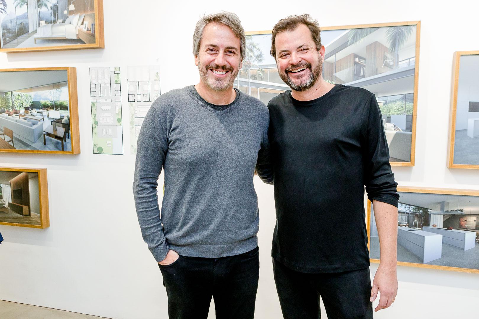 Sergio Conde Caldas e Miguel Pinto Guima